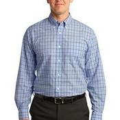 Crosshatch Plaid Easy Care Shirt
