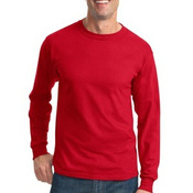 Closeout ® HiDensi T™ 100% Cotton Long Sleeve T Shirt