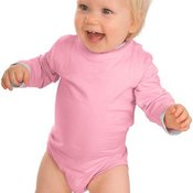 Infant Long Sleeve 1 Piece with Shoulder Snaps
