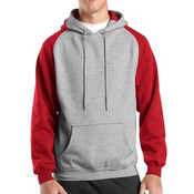 Colorblock Pullover Hooded Sweatshirt