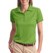 Ladies Poly Bamboo Charcoal Birdseye Jacquard Polo